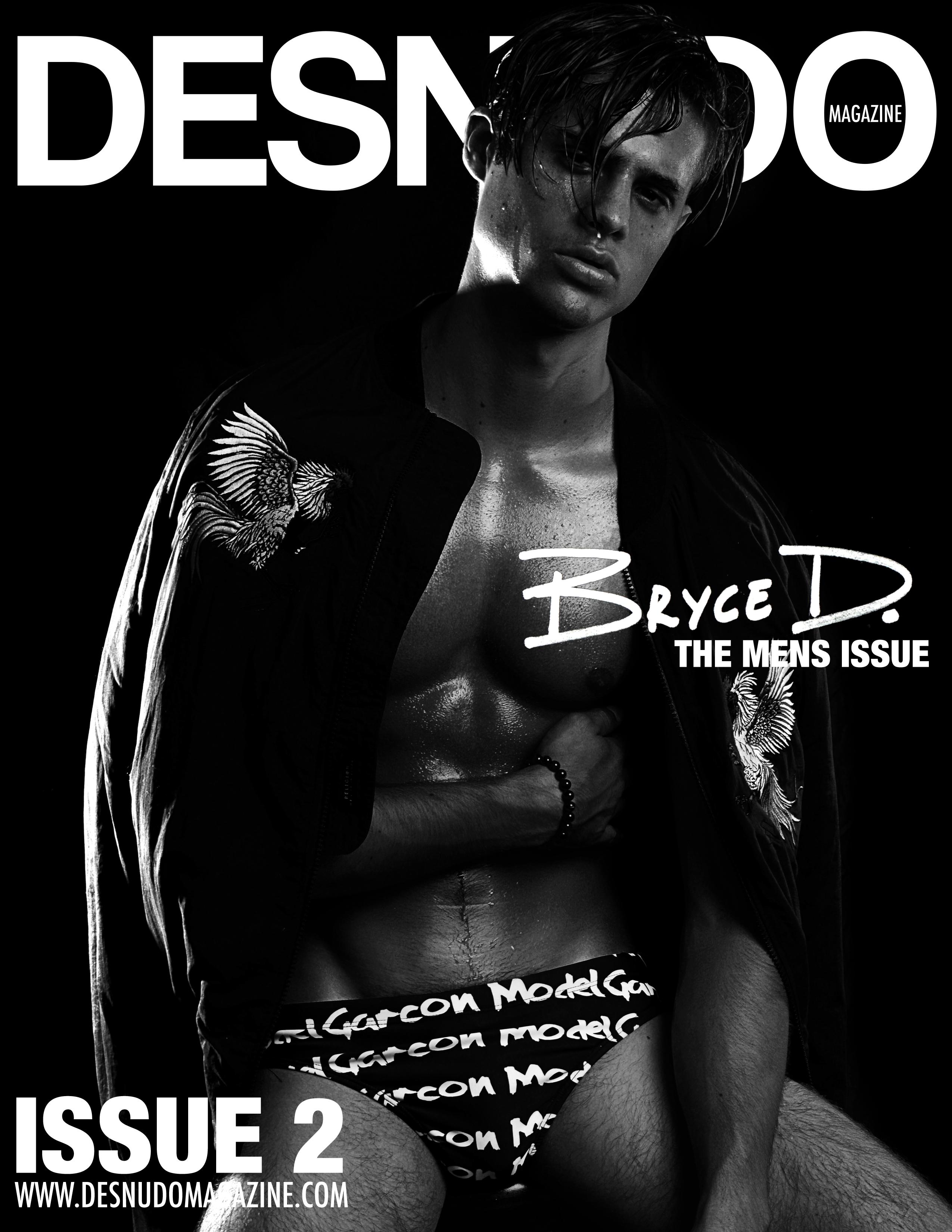 DesnudoMagazinebryceFrontCover2